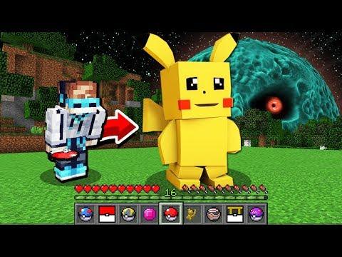 КАК ПОЙМАТЬ ПОКЕМОНА ПИКАЧУ В МАЙНКРАФТ ► Обзор мода Pixelmon Minecraft