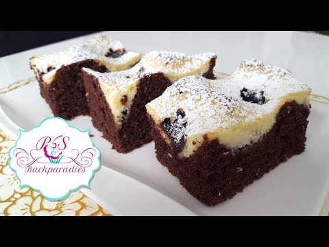 schoko schmand kuchen cikolatali labneli kek youtube. Black Bedroom Furniture Sets. Home Design Ideas