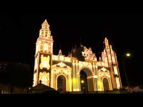 Alumbrao 2015 Feria de Abril Sevilla / Gate Lighting 2015 April Fair Seville