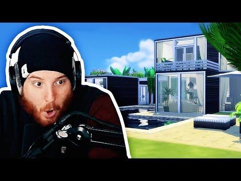 Unge reagiert auf sein Container Haus - in Sims   #ungeklickt