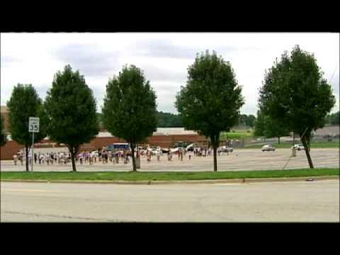 Worker Hurt At Blue Valley High School