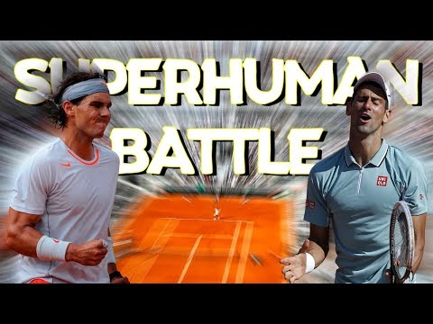 The Most COMPETITIVE Tennis Match Ever ● SUPERHUMAN Battle