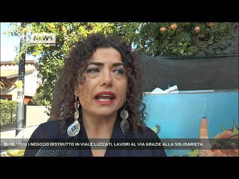 16/10/2019 | NEGOZIO DISTRUTTO IN VIALE LUZZATI, L...