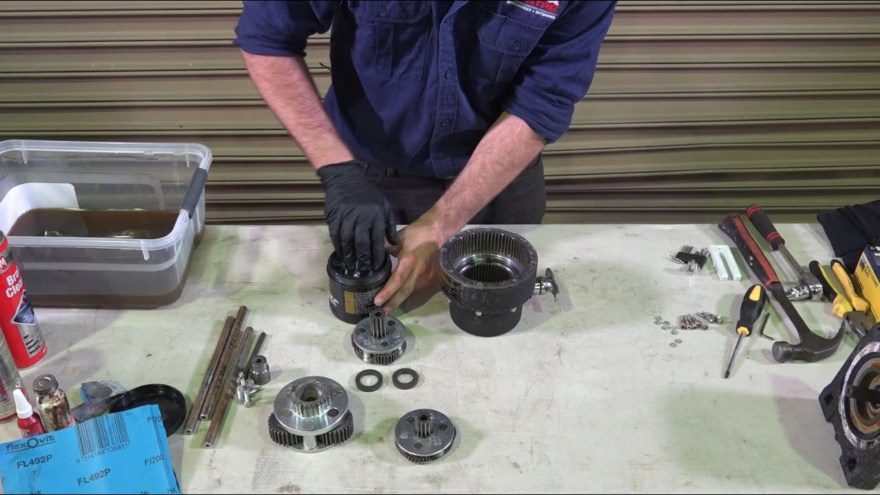 Winch servicing made easy on