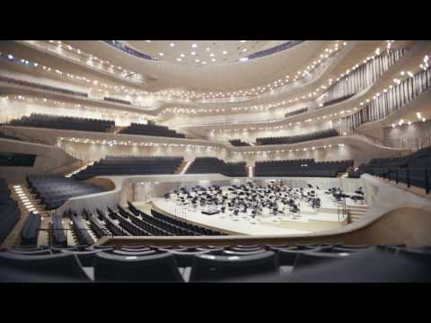 Elbphilharmonie Hamburg by Herzog & de Meuron virtual fly through by Kai Heuser