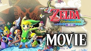 The Legend of Zelda: The Wind Waker HD Full Movie (All Cutscenes) 1080p HD