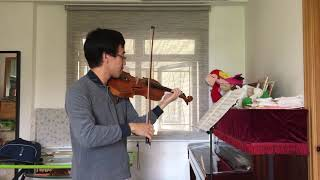 ABRSM Violin grade 7 2016-19 C3 Gavotte with Two Variations