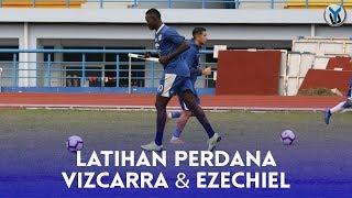 Download Video LATIHAN PERDANA ESTEBAN VIZCARRA & EZECHIEL N'DOUASSEL MP3 3GP MP4