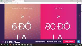 Qurrex ICO REVIEW - CÁC TRAO ĐỔI MẬT MÃ