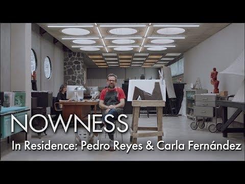 In Residence: Pedro Reyes & Carla Fernández