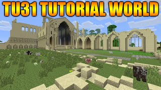 ★Minecraft Xbox 360 + PS3: Title Update 31 NEW Tutorial Mode Screenshot - 1.8 Update Info★