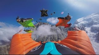 Awesome first wingsuit 12 ways at Aiguille du Midi - Chamonix