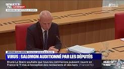 Jérôme Salomon: 'Le coronavirus a un caractère exceptionnel qui peut être comparé à la peste'