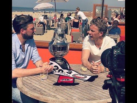 Studio Feyenoord met Dirk Kuyt vanuit Noordwijk