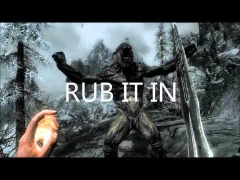 Skyrim trailer - The Misheard Lyrics