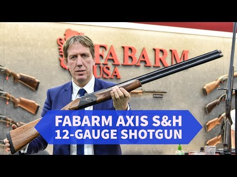 Fabarm AXIS S&H: 12 gauge shotgun for shooters and hunters