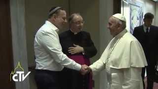 Concerto in  Aula Paolo Vi, udienza privata di Papa Francesco con gli Organizzatori e Sponsor