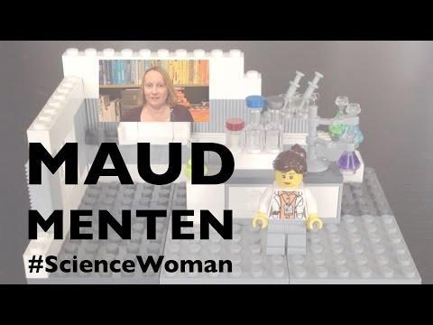 Maud Menten #ScienceWoman (in Lego)