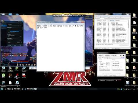 TERA Very Low Texture and RAM Usage