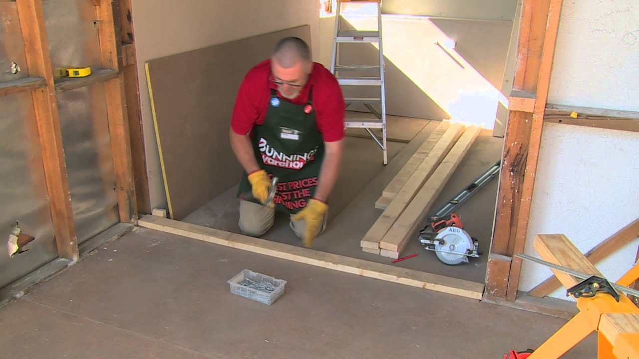 How To Build A Stud Wall Diy At Bunnings Youtube