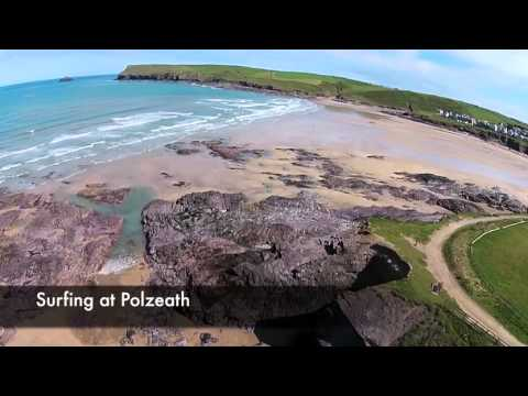 Rock, Daymer Bay, Polzeath To Port Isaac In Cornwall