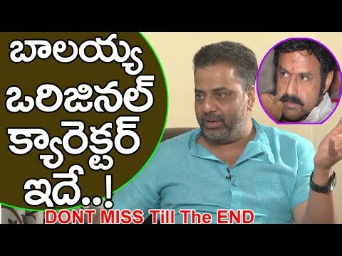 Raja Ravindra About Balakrishna Original Character | Celebrities Interviews | Talk With FridayPoster