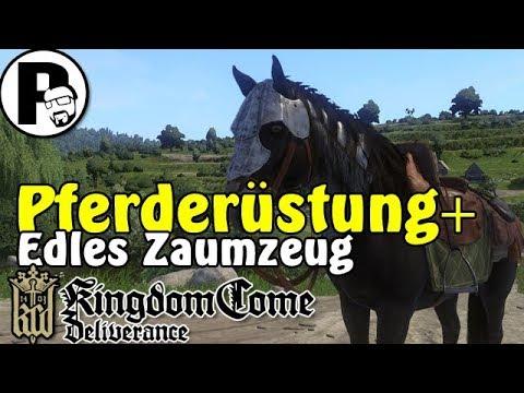 PFERDERÜSTUNG [ROSSSTIRN] & EDLES ZAUMZEUG finden in Kingdom Come Deliverance    TUTORIAL[DEUTSCH]