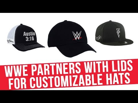 Buster - WWE Signs Exclusive Hat Deal With New Era Caps
