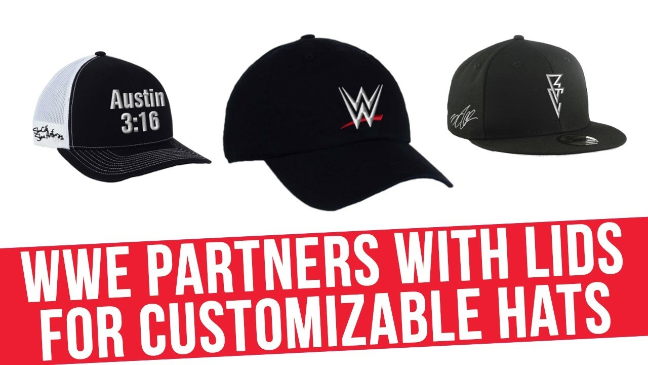 7d5c83ff5 WWE Partners With Lids For Customizable Hats