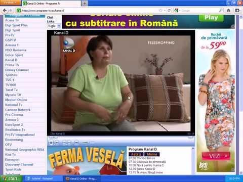 programe tv live romanesti gratis