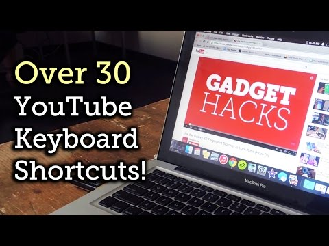 30+ Keyboard Shortcuts for YouTube Videos [How-To]