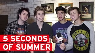 5 Seconds of Summer play Ultimate Question Pong!