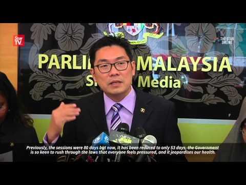 Bayan Baru MP seeks shorter Parliament hours