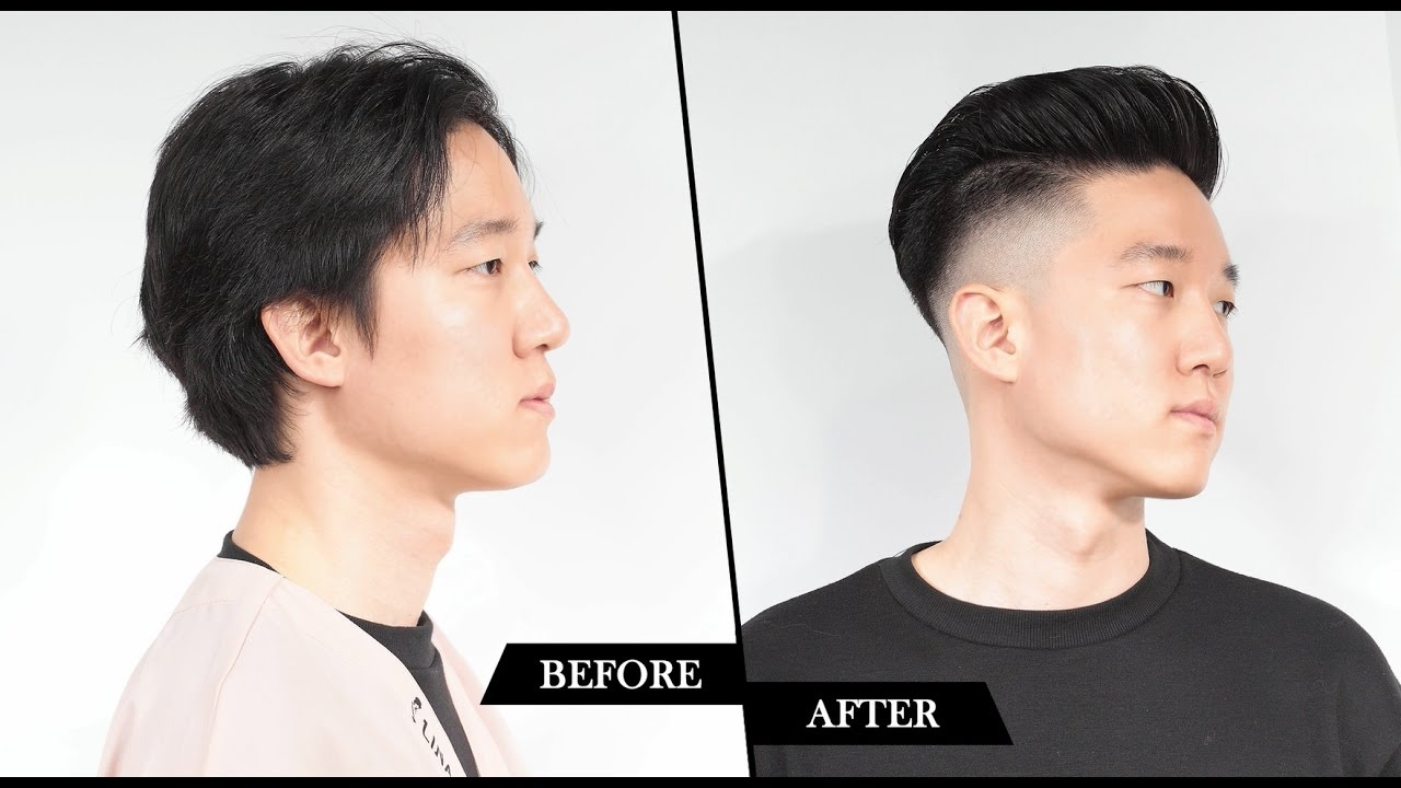 Korean Two Block Haircut English Narration Voguers Clipper Youtube