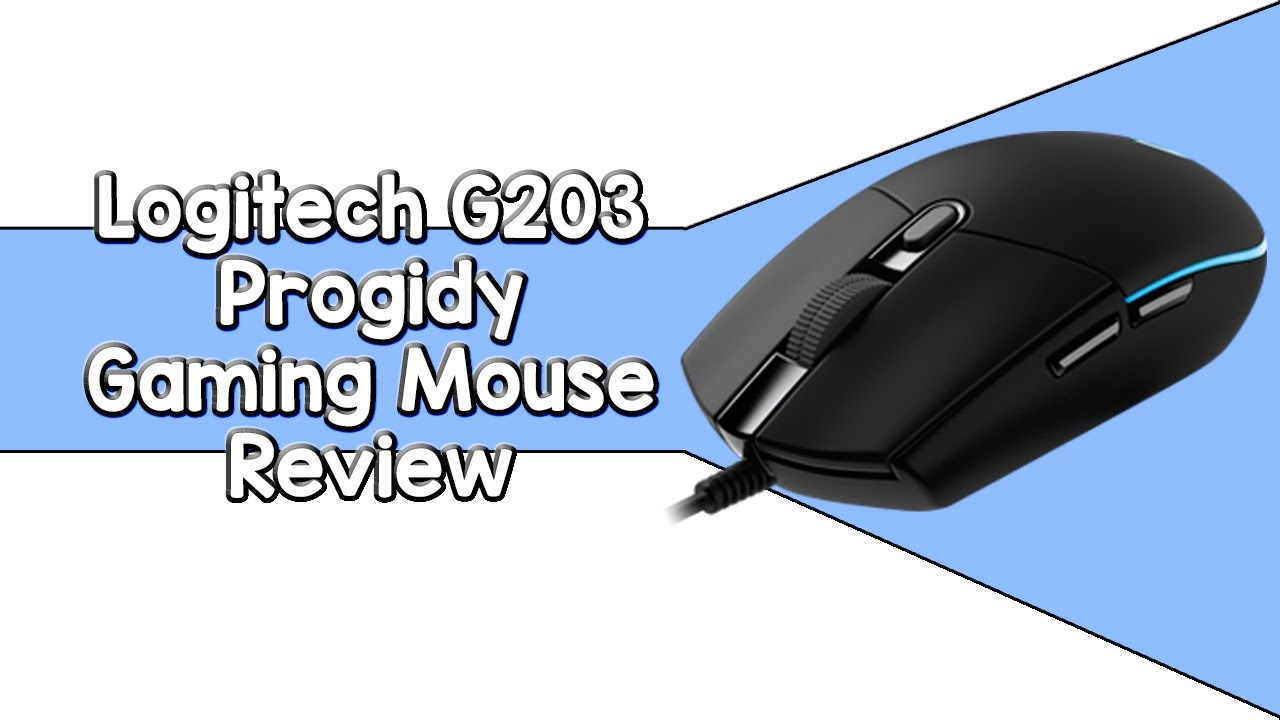 Logitech G203 Progidy Gaming Mouse Review