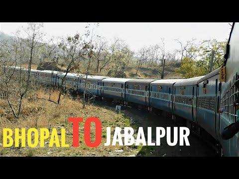 BHOPAL To JABALPUR : A Complete Train Journey : Indian Railways 2018