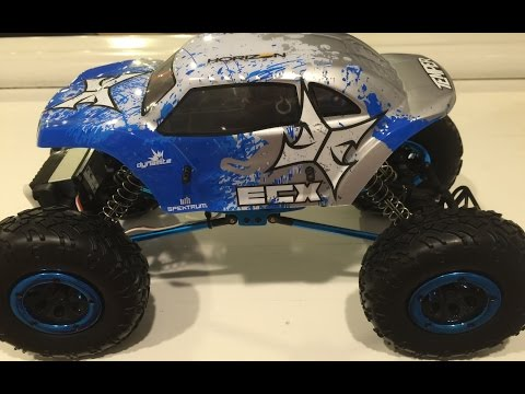ECX Temper Rock Crawler Review - Temper 1/18 Scale Rock Crawler Review And Unboxing