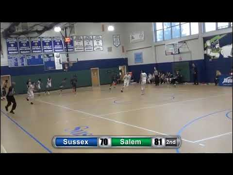 Sussex Men's Basketball vs Salem Community College