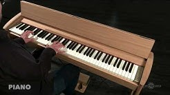 Roland Kiyola KF-10 Digital Piano with Stool, Pure Oak | Gear4music demo