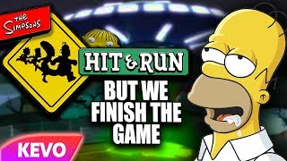 Simpsons Hit And Run but we finish the game