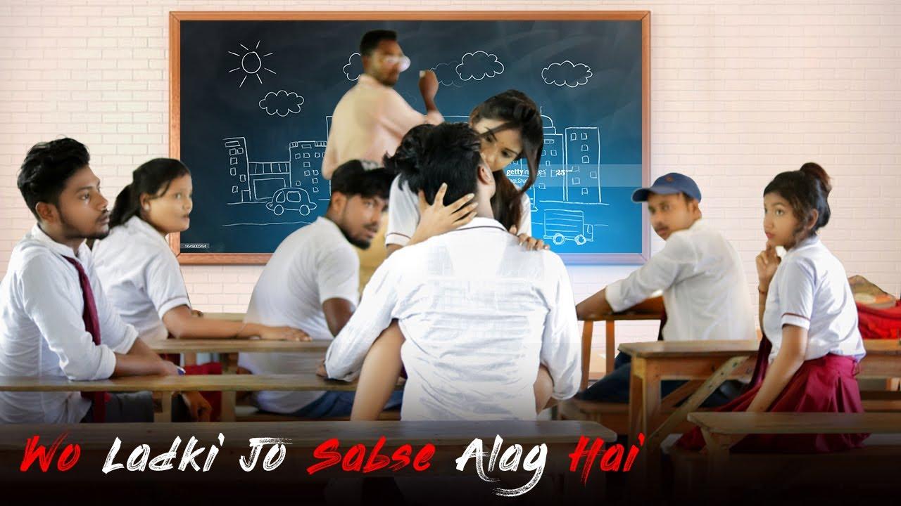Wo Ladki Jo Sabse Alag Hai | Romantic Love Story | School Love Story | AGR Life