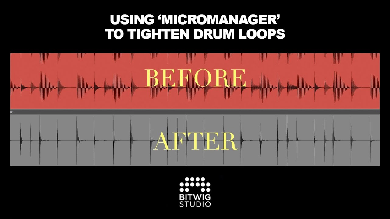 Creating Microhouse Drums With My 'Micromanager' Preset