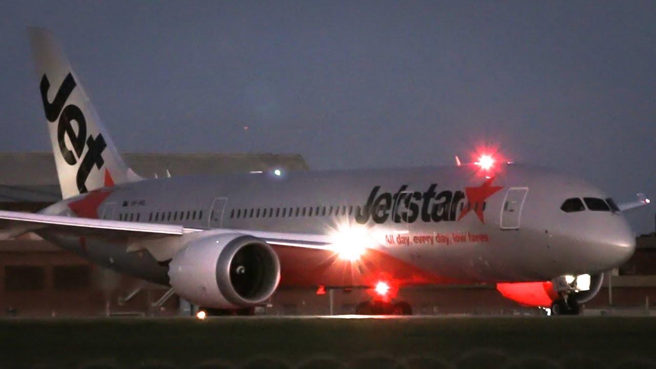 Jetstar Boeing 787-8 Dreamliner Impressive Takeoff ...