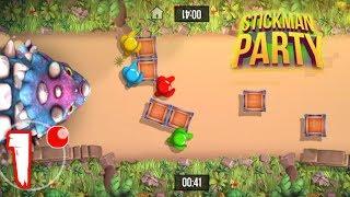 Stickman Party: 1 2 3 4 Permainan Pemain Gratis Gameplay screenshot 3