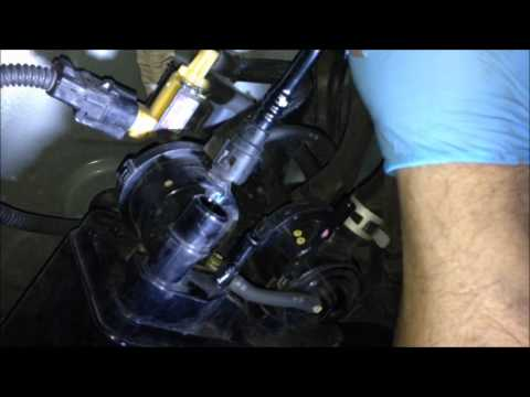 Toyota Corolla Evap Canister Replacement  YouTube