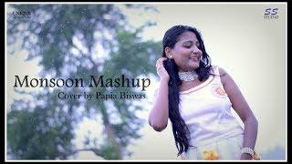    Rain Mashup Cover - Papia Biswas    Bollywood Monsoon Mashup    The Romantic Rain   