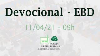 Devocional EBD - 11/04/2021