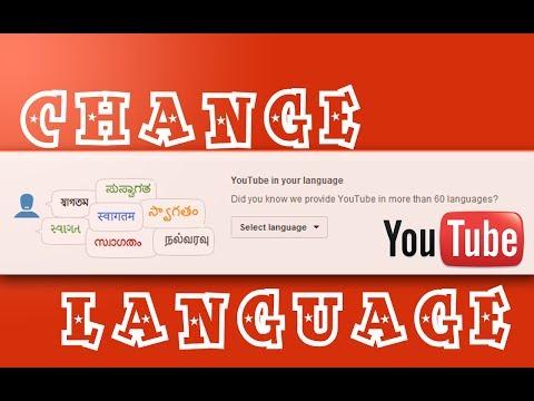How To Change Youtube Language Back To English From Hindi / Marathi / Any Other (2014)