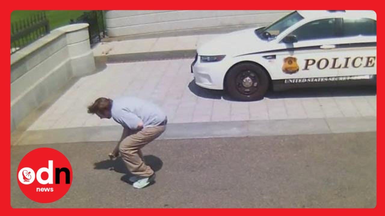 Secret Service shoots White House gunman
