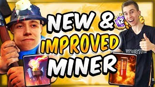 MINER POISON CONTROL w/ BUFFED INFERNO TOWER DOMINATES — Clash Royale